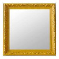 Espelho Moldura Art Shop Rococó Raso 16368 Amarelo