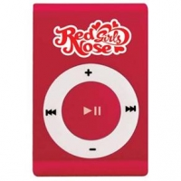 MP3 Player Red Nose Girls 4GB Vermelho