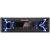 Som Automotivo Multilaser Pop BT Bluetooth MP3 Player Rádio AM/FM P3336