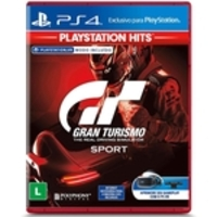 Jogo PS4 - Gran Turismo Sport - Playstation Hits - Playstation