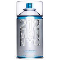 Perfumes Masculino 212 Seductive Body Spray de Eau Toilette 250ml