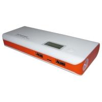 Carregador Bateria Portatil Universal Pineng Powerbank 10000mAh Laranja