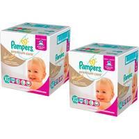 Kit Fralda Pampers Premium Care Jumbo Tamanho XG 120 Unidades