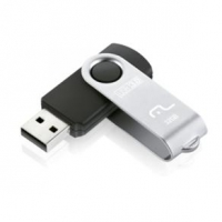 Pen Drive Multilaser Twist PD989 32GB Preto