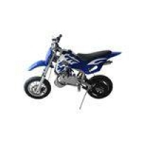 Mini Moto Cross 49cc Dirt Bike A Gasolina 2 Tempos WVDB-006 Azul - Importway