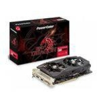 Placa De Video Power Color Radeon Rx 590 8gb Red Dragon Ddr5 256 Bits - Axrx 590 8gbd5-dhd