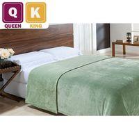Cobertor Super Queen King Dupla Face Niazitex Verde Oliva