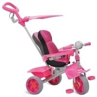 Triciclo Bandeirante Smart Confort Rosa