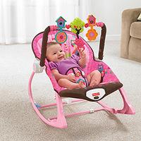 Cadeirinha de Balanço Infância Sonho Fisher Price X7032 Rosa