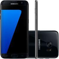 Smartphone Samsung Galaxy S7 Edge SM-G935F Desbloqueado GSM 4G 32GB Single Chip Android 6.0 Preto