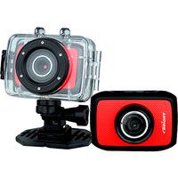 Câmera Digital Para Esportes Bright Sport Cam 0384 5MP Vermelha