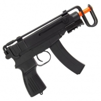 Submetralhadora de Airsoft AEG Scorpion V-61 Full Metal com Coronha