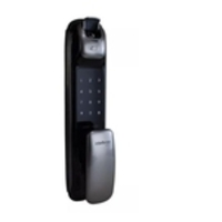 FR 630 Fechadura Digital Push & Pull com biometria Intelbras