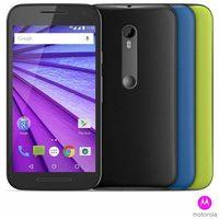 Smartphone Motorola Moto G Colors 3 Geração XT1544 HDTV 16GB Preto + 2 Capas
