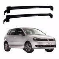 Rack Teto Eqmax New Wave Polo Hatch 4p 2003 a 2014 Preto