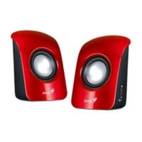 Caixa de Som Genius CH SP-U115 USB Vermelha