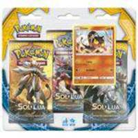 Pokemon Blister Triple Pack Sol E Lua Litten Copag 97433