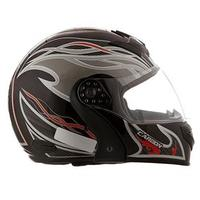 Capacete Mixs Helmets Gladiator Carbon Preto