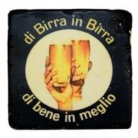 Porta-Copos Oldway Birra In Preto 10x10cm