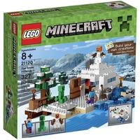 Lego Minecraft O Esconderijo da Neve 21120