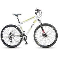 Bicicleta Colli Aro 29 21 Marchas Force One Branca e Verde