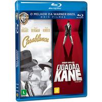 Dose Dupla Blu-Ray Casablanca + Cidadão Kane - Multi-Região / Reg.4