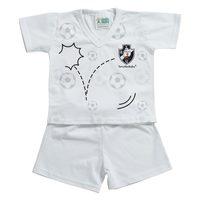 Pijama Curto Torcida Baby Vasco Tamanho P
