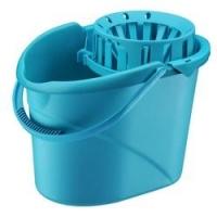Balde para Mop Brinox Super Clean 12 Litros Azul