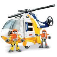 Imaginext - Helicóptero Aventura Mattel