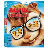 Coleção Alvin e os Esquilos 1,2 & 3 Blu-Ray - Multi-Região / Reg.4