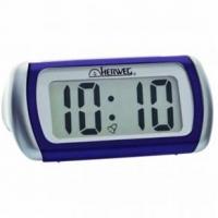 Despertador Herweg Digital de Mesa Lilás 5x10x8cm