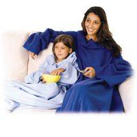 Cobertor Ariel Salamon TV com mangas Azul