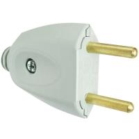 Plug Universal Macho Tramontina 10A 250V Cinza
