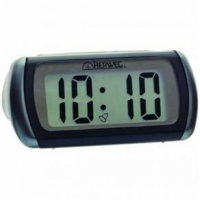 Despertador Herweg Digital de Mesa Preto 5x10x8cm