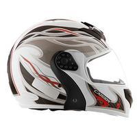 Capacete Mixs Helmets Gladiator Carbon Branco