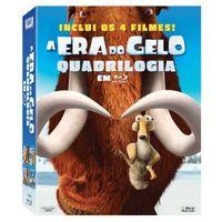Quadrilogia A Era do Gelo Blu-Ray - Multi-Região / Reg.4