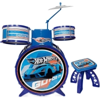Bateria Radical Infantil Fun Hot Wheels 3848 Azul
