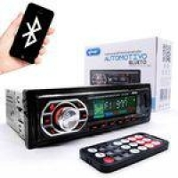 MP3 Player Automotivo Knup KP-C17BH com Bluetooth USB/SD/AUX 4X25W RMS