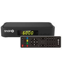 Conversor de Sinal Digital em Alta Definição Shop+ Preto ISDB-T 3611