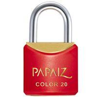 Cadeado Papaiz Colorline CR20 Vermelho