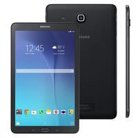 """Tablet Samsung Galaxy Tab E 9.6"""" 8GB 3G Wi-Fi Android 4.4 Preto SM-T561"""