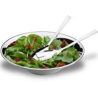 Conjunto para Salada Brinox Suprema 3 pçs Inox