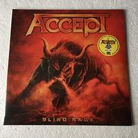 Accept Blind Rage LP Vinil Yellow Limited Edition