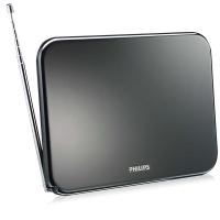 Antena Interna Philips SDV7225T/55 Digital Amplificada de 25dB HDTV/UHF/VHF/FM