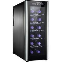 Adega de Vinhos Electrolux ACS12 12 Garrafas Preta e Prata