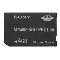 Cartão de Memória Sony Memory Stick Duo Pro MSX-M4GS 4GB