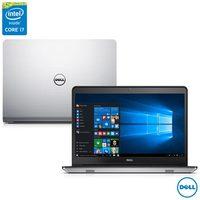 Notebook Dell i14 5448-C25 Inspiron 14 Série 5000 Intel Core i7-5500U 8GB 1TB 2.4GHz Windows 10 Prata
