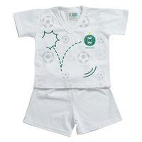 Pijama Curto Torcida Baby Coritiba Tamanho P