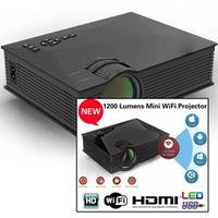 Mini Projetor Led UC46 1200 Lumens HDMI Wifi