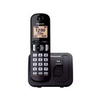 Telefone Sem Fio Panasonic Ident. de Chamadas - Viva-Voz KX-TGC210LBB Preto